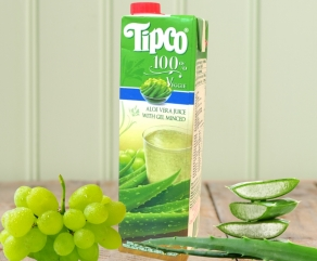 (TIPCO) 泰可100%蘆薈白葡萄汁